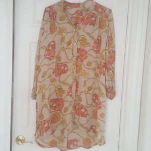 Dresses & Skirts - Beautiful silk shirt/top.Brand new